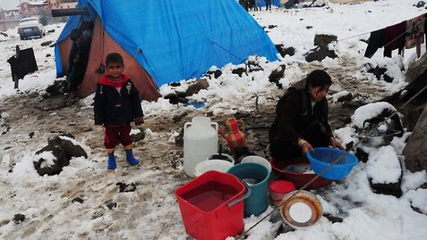 Syrian refugees' camp 01/12/2013